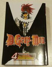 D Gray Man Manga Books 4