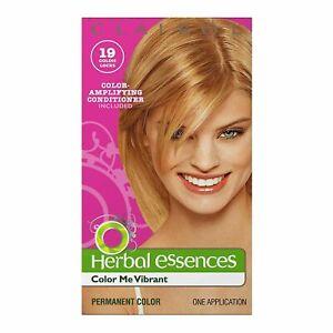 Clairol Herbal Essence Color Me Vibrant Permanent Hair Color, #19 Goldie Locks