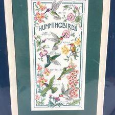 The Hummingbird Society Cross Stitch Kit Sunset Dimensions 13589