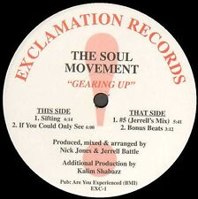 NICK JONES - Gearing Up EP - Presents Soul Movement - Exclamation - EXC-1