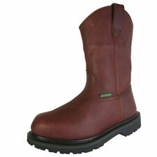 Leather Solid Boots for Men