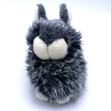 Alfa's Fuzzy Town small Gray Rabbit with White Accents