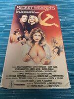 Secret Weapons HTF VHS Geena Davis Linda Hamilton Softcore Flick