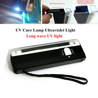 UV Cure Lamp Ultraviolet Light For Car Glass Windshield Windscreen Repair Tools