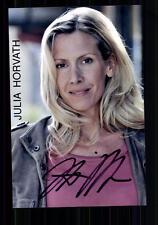 Julia Horvath foto original firmado # bc 19783
