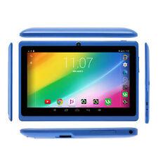 7 Zoll Tablet PC Android PAD Quad Core 8GB 2 Kamera Touch BluetoothBlau Wlan HD