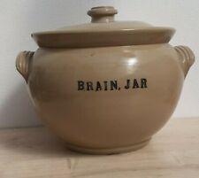 More details for antique large ceramic brain jar ex hosp. medical school anatomy dept post mortem