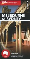 RACV Melbourne to Sydney Touring Map *FREE SHIPPING - NEW*