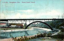 Market Street Viaduct Youngstown Ohio Postcard