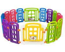 Cannons UK Large baby play pen playpen with 16 panels Optional  200 x play balls