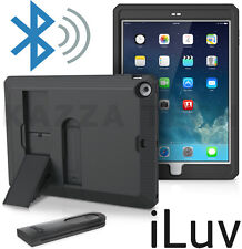 iLuv Selfie Wireless Bluetooth Camera Remote Stick Cover Case for Apple iPad Air