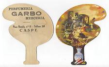 """CASPE. Pay Pay de cartón de tipo PUBLICITARIO """"Los Cacharreros"""". Goya."""