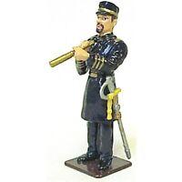 AMERICANA 18540 Civil War Union Navy Officer 1/32 Painted Metal MIB FREE SHIP