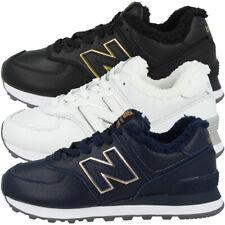 New balance WL 574 RM Zapatos Cuero cortos forradas wl574rm invierno zapatillas de deporte