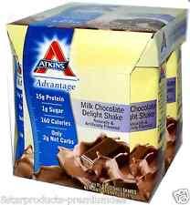 NEW ATKINS ADVANTAGE MILK CHOCOLATE DELIGHT SHAKE HELP MAINTAIN OPTIMAL WEIGHT