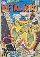 Showcase Presents Metal Men 1962 #40 DC Silver Age Comics G+