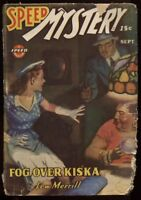 Speed (Spicy) Mystery Stories 1943 September.  Pulp.