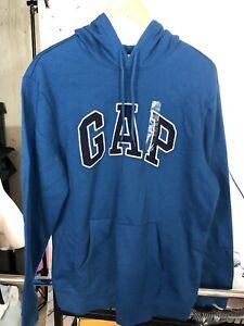 Gap Mens Hoodie. Blue. Size L. NWT