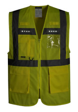 PORTWEST ORION LED EXECUTIVE VEST SIZES M-3XL L476 CLASS 25LM 80HRS RUN TIME