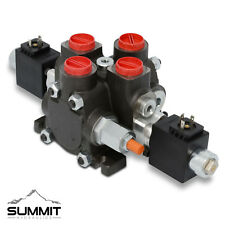 Hydraulic Solenoid Directional Control Valve Double Acting 1 Spool 27 Gpm 12
