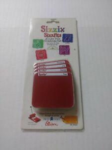 New SIZZIX SIZZLITS Doodle Dies Christmas Set 4-pack Dies #38-9620 Scrapbook