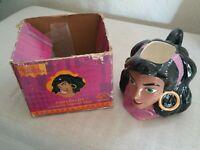 Vintage Disney Hunchback Of Notre Dame Esmeralda Mug 3D w/ box