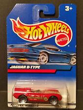 1999 Hot Wheels No ID Number : Jaguar D-Type - 23807