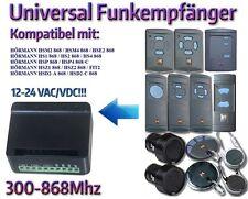 Hörmann kompatibel funkempfänger für Hörmann fernbedienungen 868,3Mhz / 12-24V