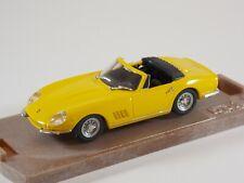 Ferrari 275 GTB/4 Spyder. Yellow. 1:43 Scale. Box Model 8418. MIB