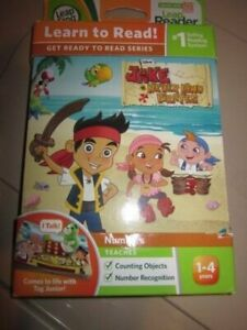 LEAPFROG LEARN TO READ JAKE AND THE NEVERLAND PIRATES NUMBERS
