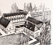ABBAYE DE NOIRLAC    FRANCE Document Philatélique Officiel 2783