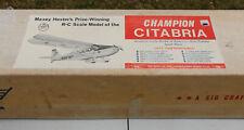 "RC Balsa Airplane Kit - SIG Maxey Hester's Champion Citabria - Wingspan 69"""