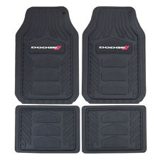 New 4pc DODGE RAM Black Car Truck SUV Heavy Duty All Weather Rubber Floor Mats