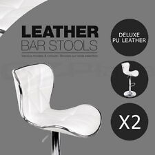 Faux Leather Antique Style Bar Stools