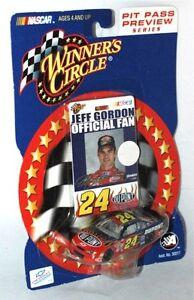 Jeff Gordon #24 - Official Fan Card Winners Circle 2002 Pit Pass Preview Series