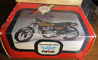 Polistil, A scale model / toy of a Kawasaki 900 motorbike,  boxed 1975