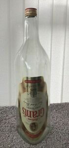 William Grant's Scotch Whisky Bottle HUGE 4.5 Litres Ideal for Coins Mancave