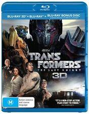 Transformers The Last Knight 3D Blu-ray NEW