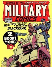 Golden Age Military Comics 2 Military Comics, Modern Comics and More on DVD