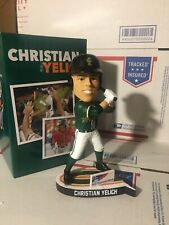 2019 GREENSBORO GRASSHOPPERS CHRISTIAN YELICH BREWERS SGA BOBBLEHEAD MVP