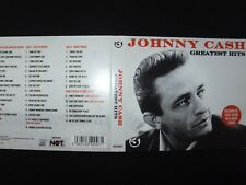 COFFRET 3 CD JOHNNY CASH / GREATEST HITS /