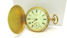 "No. 101974 - Runs Slowly 1.25"" Patek Philippe 18K Gold Pocket Watch"