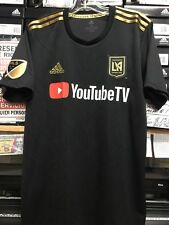 Adidas LAFC home Jersey #10 Carlos Vela Black And Gold Size Large   Only