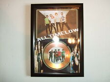 all time low  SIGNED  GOLD CD  DISC   4454
