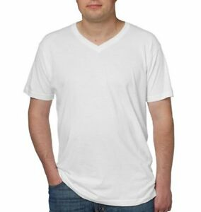 Kirkland Signature Men's Short Sleeve V Neck Cotton T Shirts