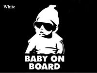 Baby on Board Carlos Hangover funny car vinyl reflective sticker Warning decal