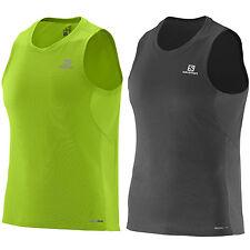 Ärmellose Herren-Sport-Shirts mit Reflektoren