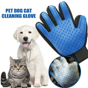 Pet Dog Cat Comb Cleaning Brush Glove Massage Hair Removal Grooming Groomer New