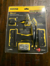 NEW STANLEY MAXLATCH DECORATIVE FENCE GATE KIT Black S824-334