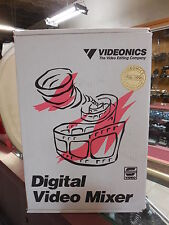 VIDEONICS MX-1 Digital VIDEO MIXER - in box with ac adaptor and instructions